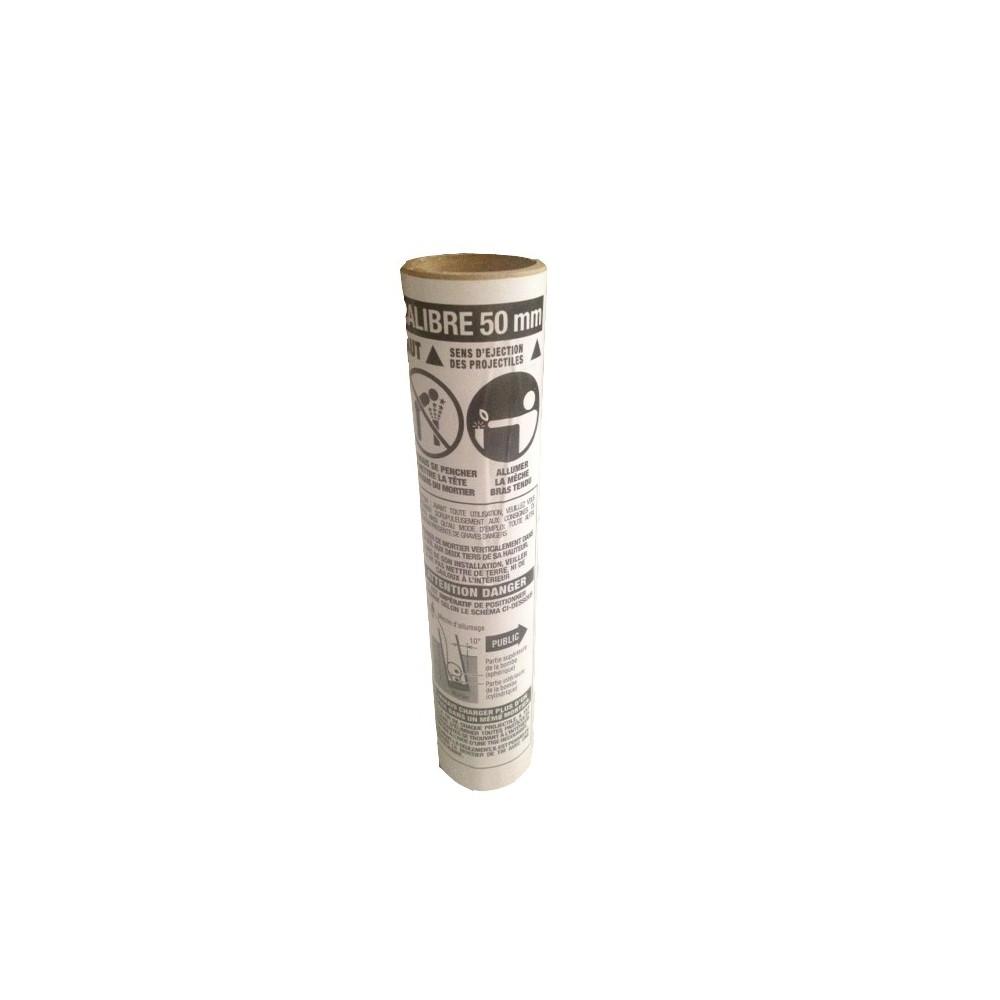 Mortier plastique 50 mm